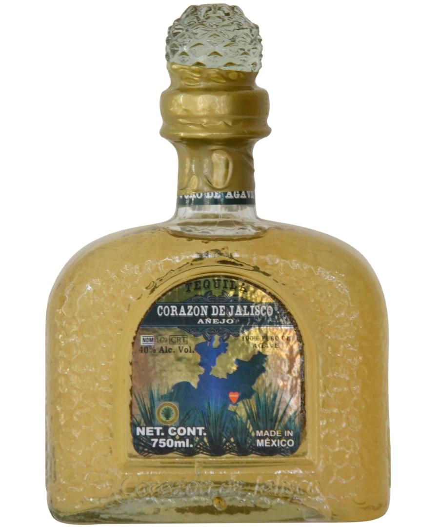 Tequila Corazon De Jalisco Anejo Tequila Unlimited