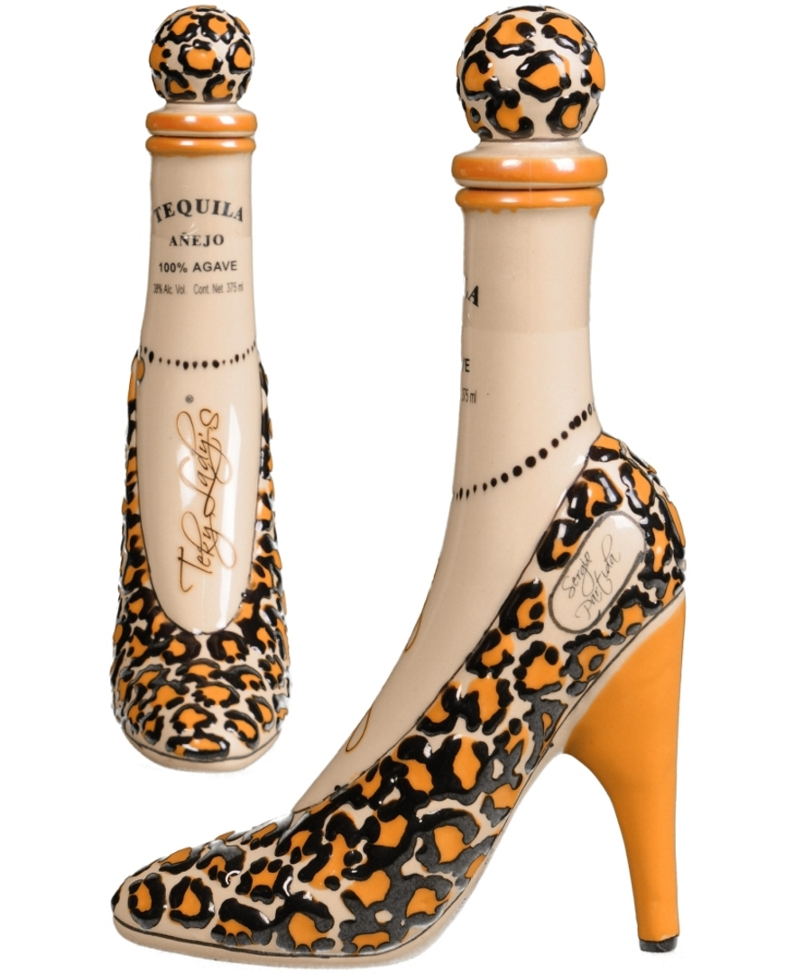 Tequila Tekyladys Shoe Anejo Tequila Unlimited